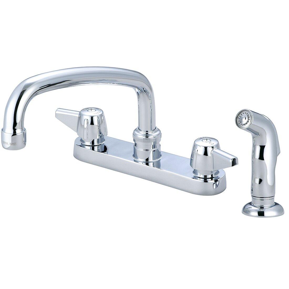 Central Brass Kitchen Faucet