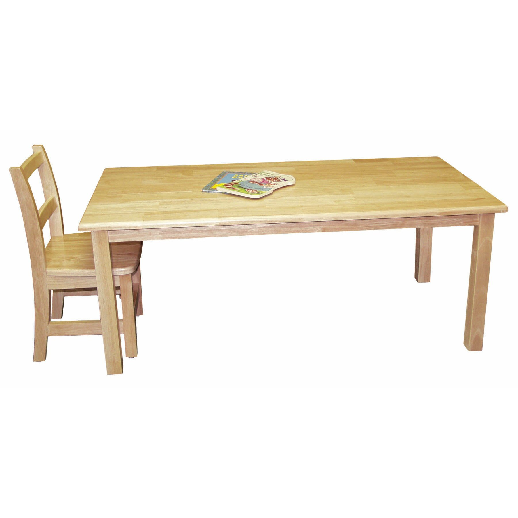 Ecr4kids rectangular activity table reviews wayfair for Table x reviews