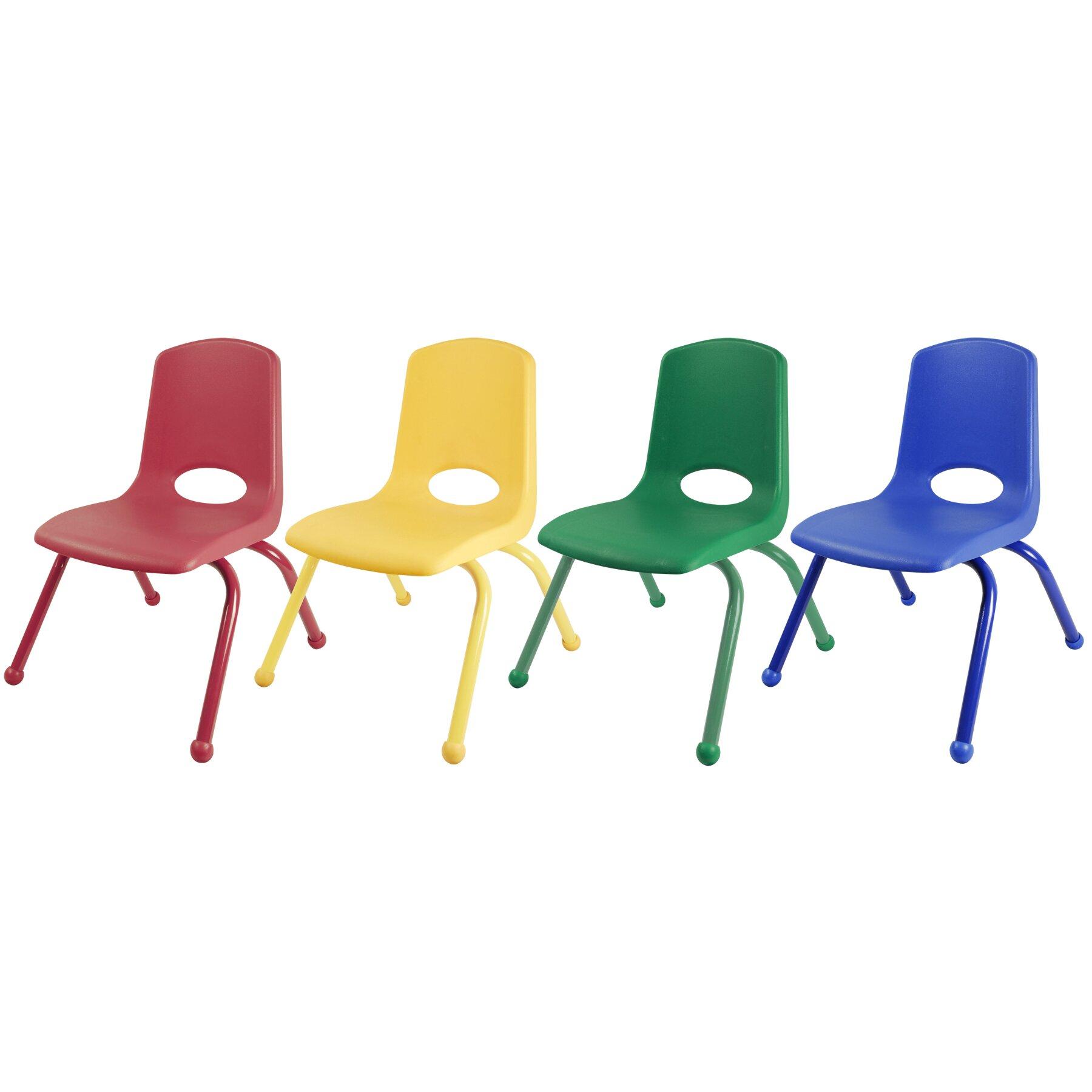 Ecr4kids Plastic Classroom Chair Reviews Wayfair