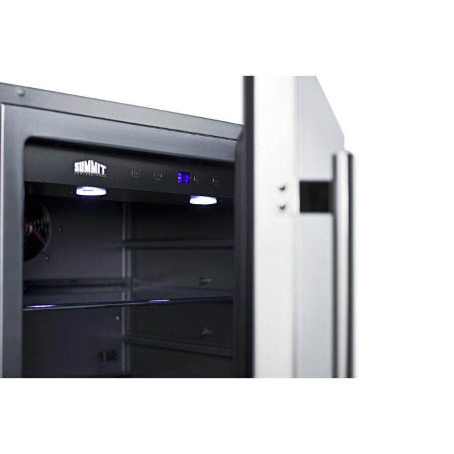 Summit Appliance 4 6 Cu Ft Undercounter Freezerless