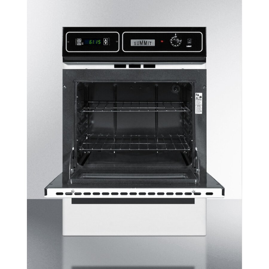 Summit Appliance 24 Quot Gas Single Wall Oven Amp Reviews Wayfair
