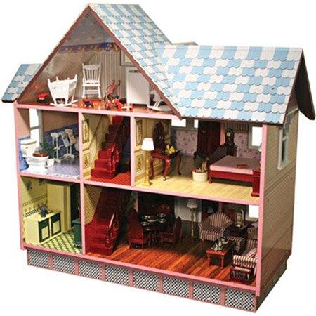 Melissa Amp Doug Victorian Dollhouse Amp Reviews Wayfair