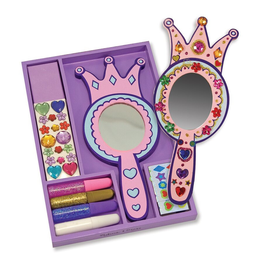 Melissa Amp Doug Decorate Your Own Princess Mirror Arts