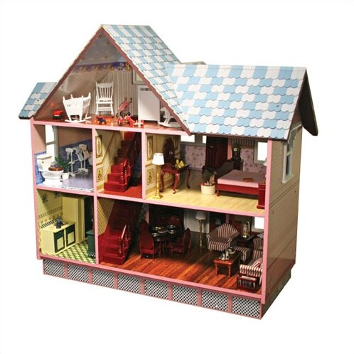 Melissa Doug Victorian Dollhouse Reviews Wayfair
