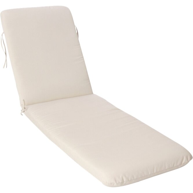 Buyers choice phat tommy outdoor sunbrella chaise lounge for Chaise cushions sunbrella