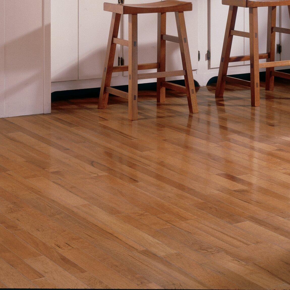 Somerset 3 1 4 solid maple strip hardwood flooring in for Somerset flooring