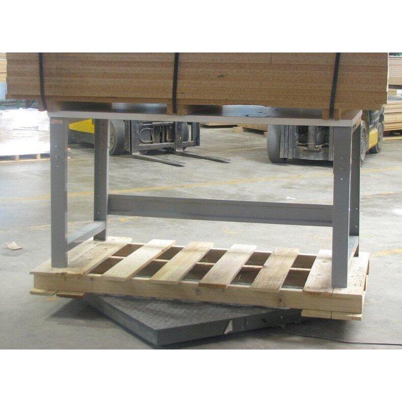 Bench Pro Roosevelt Height Adjustable Formica Laminate Top Workbench Reviews Wayfair