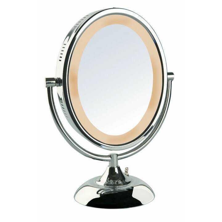 Jerdon Halo Lighted Vanity Mirror & Reviews Wayfair