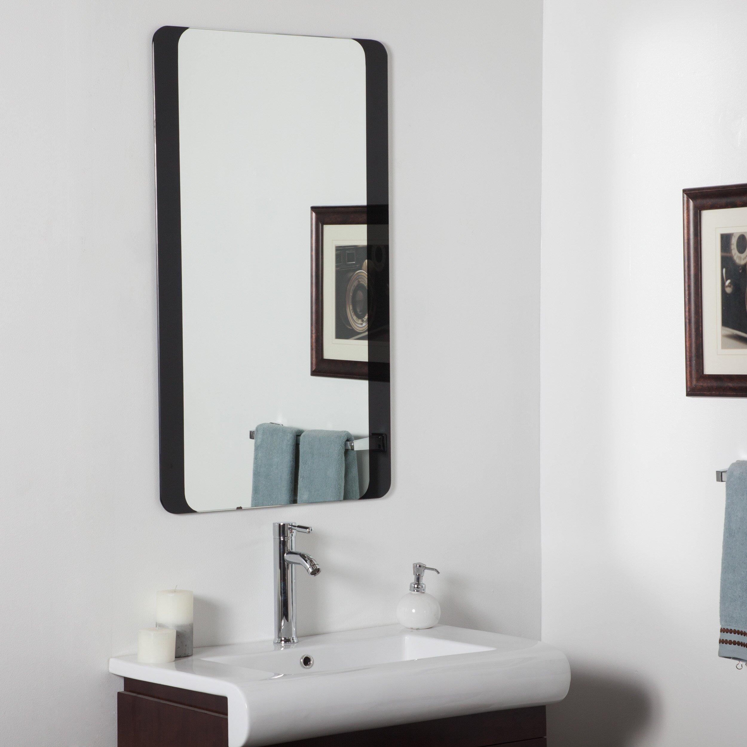 Decor Wonderland Large Wall Mirror & Reviews | Wayfair