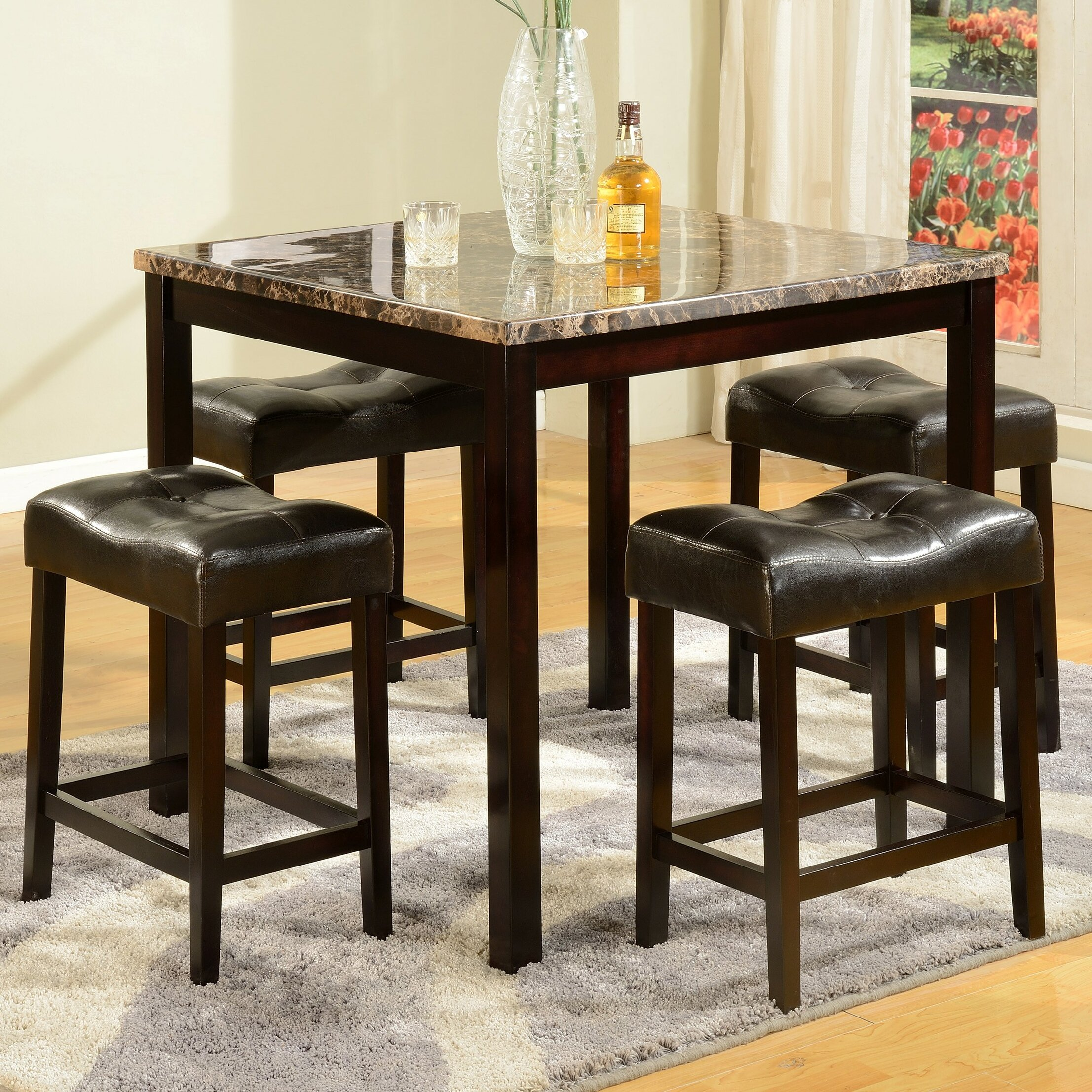 American Furniture Classics 5 Piece Counter Height Pub
