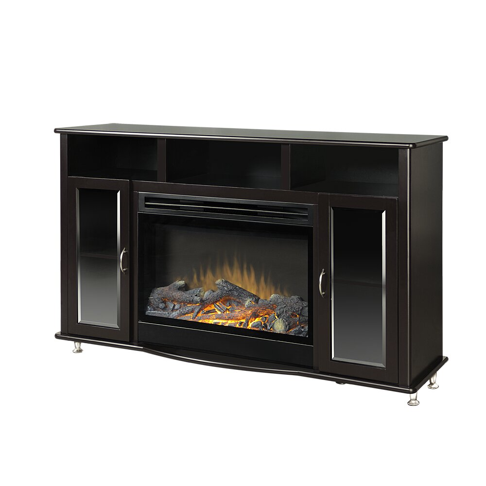 american furniture classics tv stand with electric