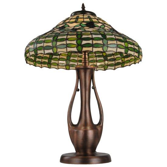 meyda tiffany guirnalda 27 table lamp wayfair. Black Bedroom Furniture Sets. Home Design Ideas