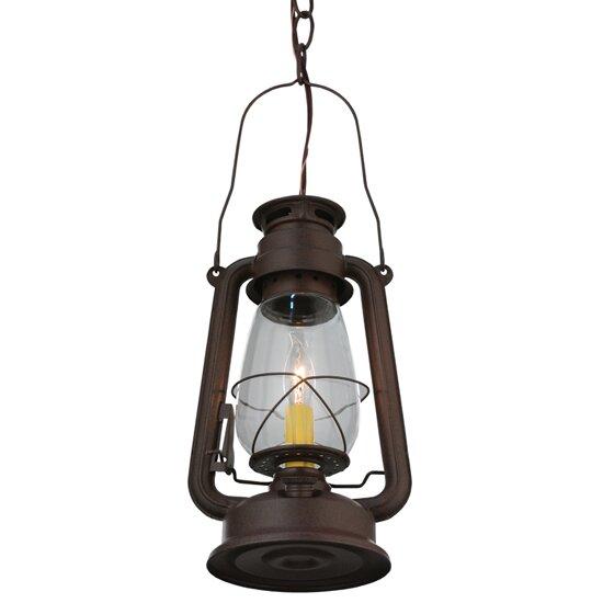 Foyer Lighting Tiffany Style : Meyda tiffany miner s lantern light foyer pendant wayfair