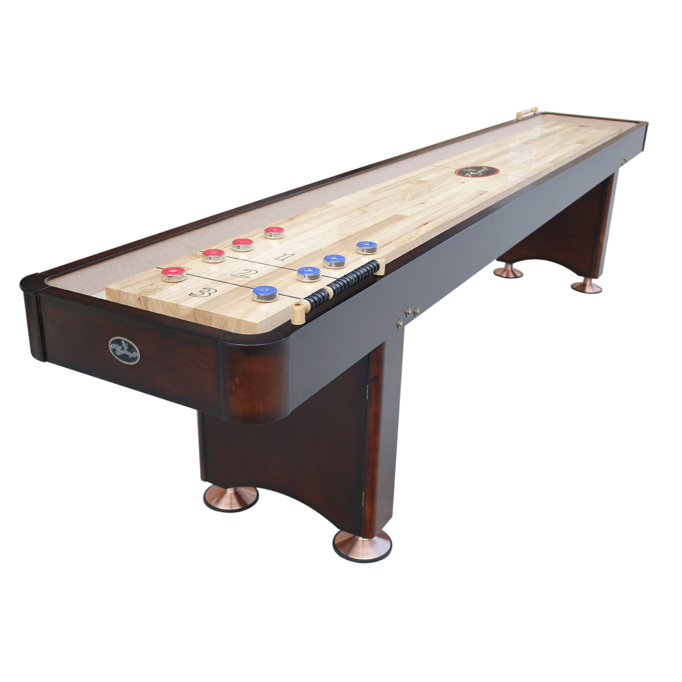 Boardroom Furniture For Sale: Playcraft Georgetown Shuffleboard In Espresso & Reviews