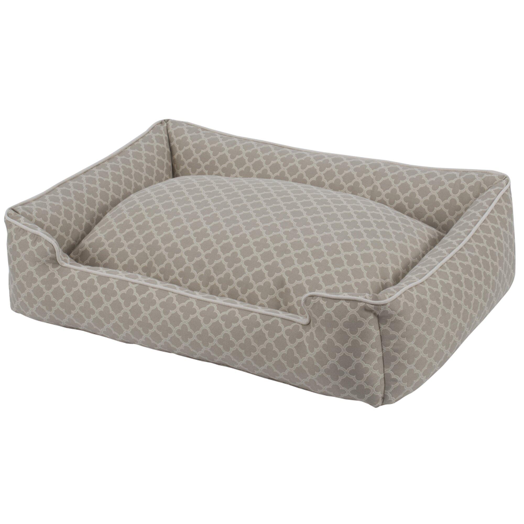 jax and bones vienna premium lounge bolster dog bed reviews wayfair. Black Bedroom Furniture Sets. Home Design Ideas