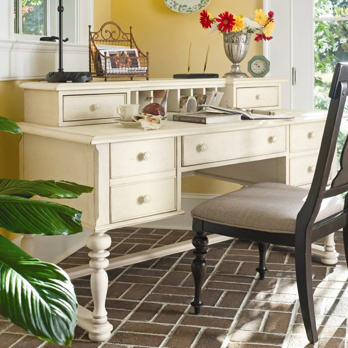 Paula Deen Home Sweet Tea Computer Desk With Keyboard Tray