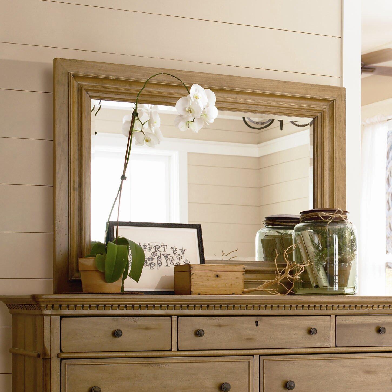 paula deen home down home rectangular dresser mirror reviews