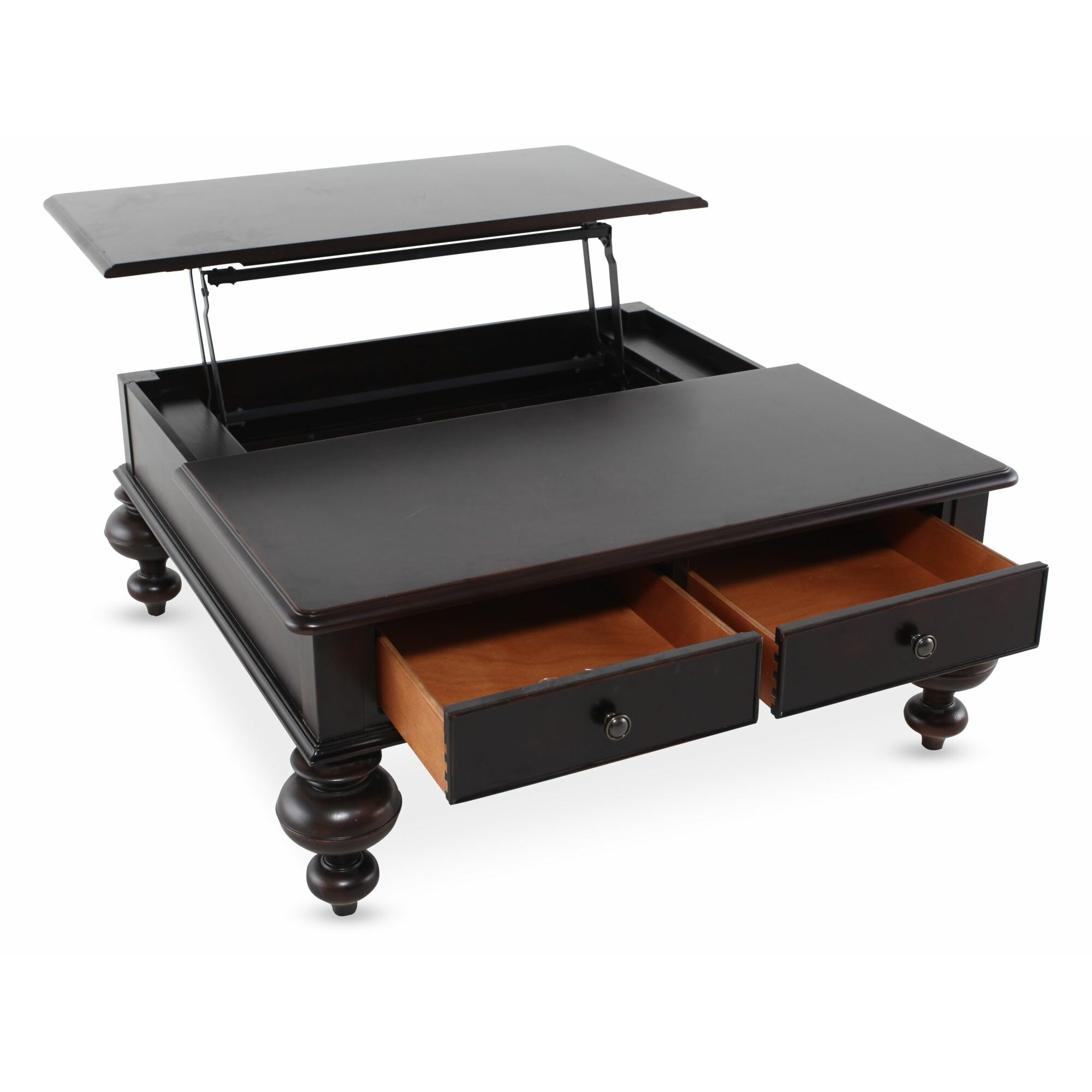 Paula Deen Home Paula Deen Home Put Your Feet Up Coffee Table With Lift Top Reviews Wayfair