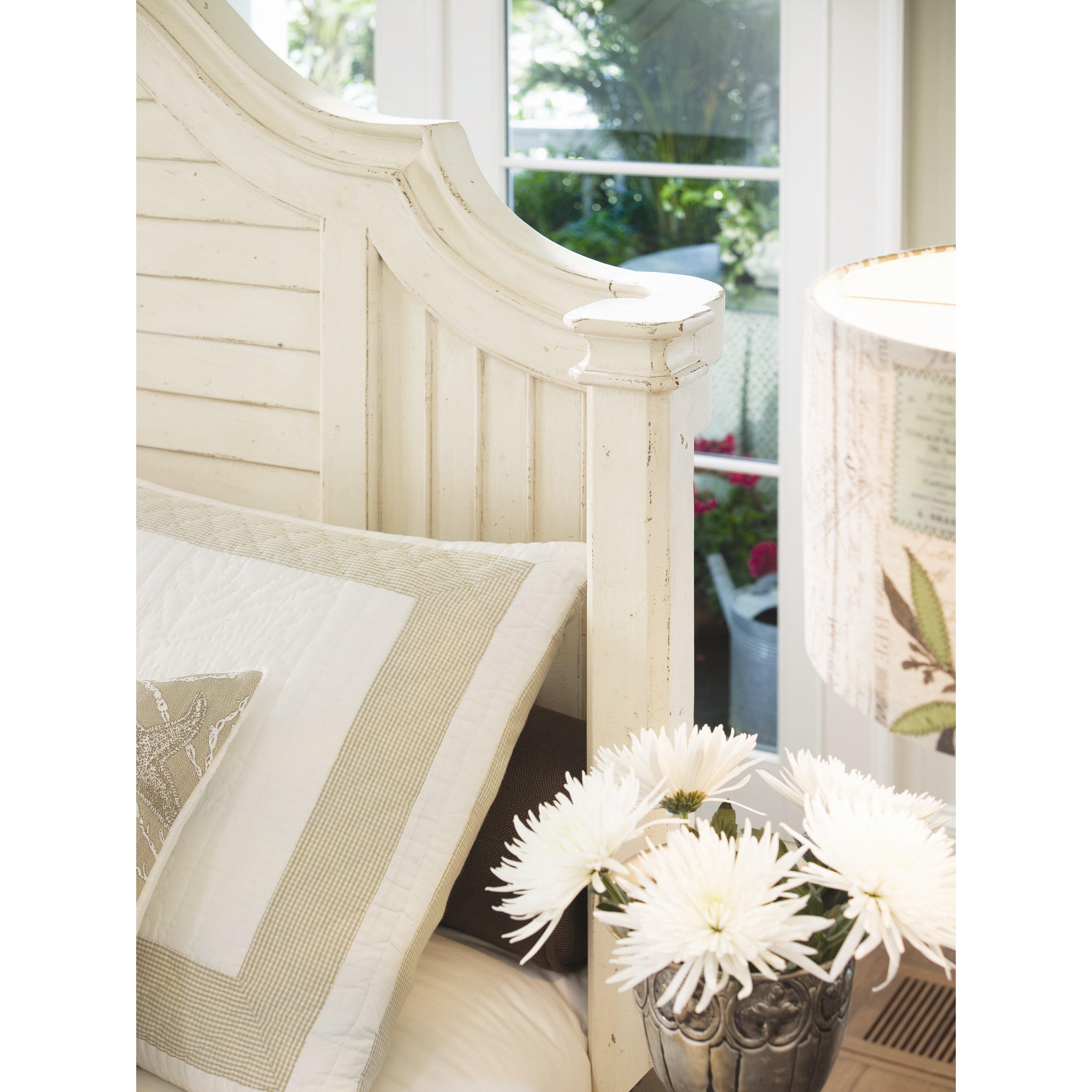 Paula Dean Bedroom Furniture Paula Deen Home Steel Magnolia Panel Customizable Bedroom Set