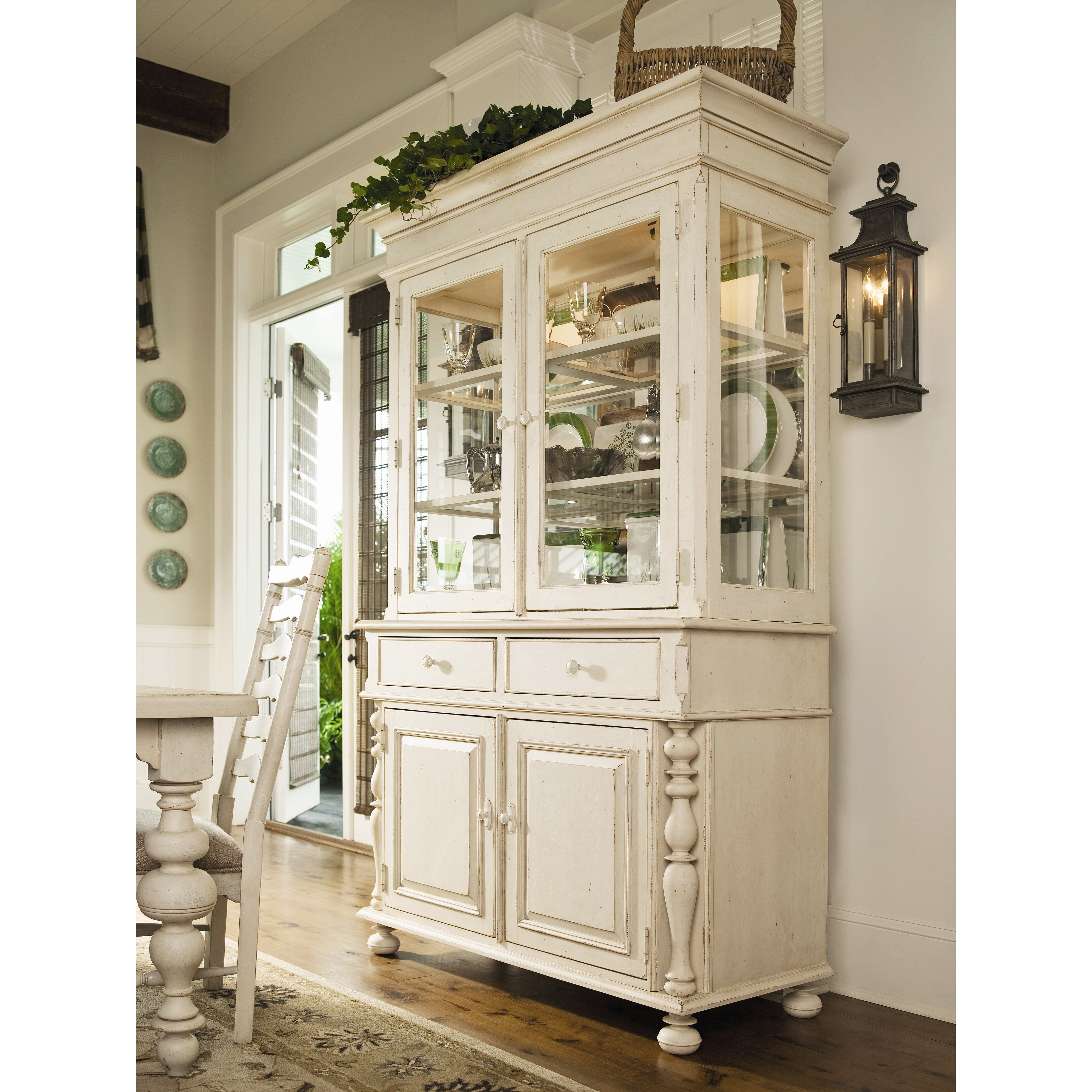 Paula Deen Kitchen Cabinets Paula Deen Home Sweet Tea China Cabinet Reviews Wayfair