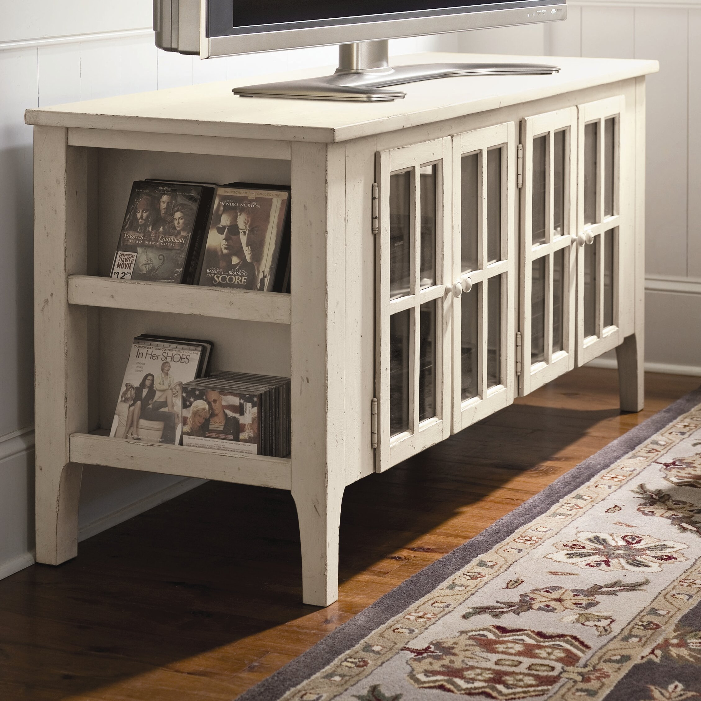 paula deen home the bag lady 39 s flat panel tv stand reviews wayfair. Black Bedroom Furniture Sets. Home Design Ideas