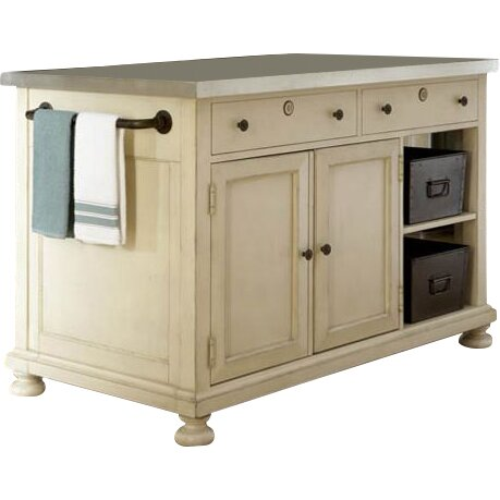 kitchen island stainless steel top paula deen home river house river house kitchen island 24786