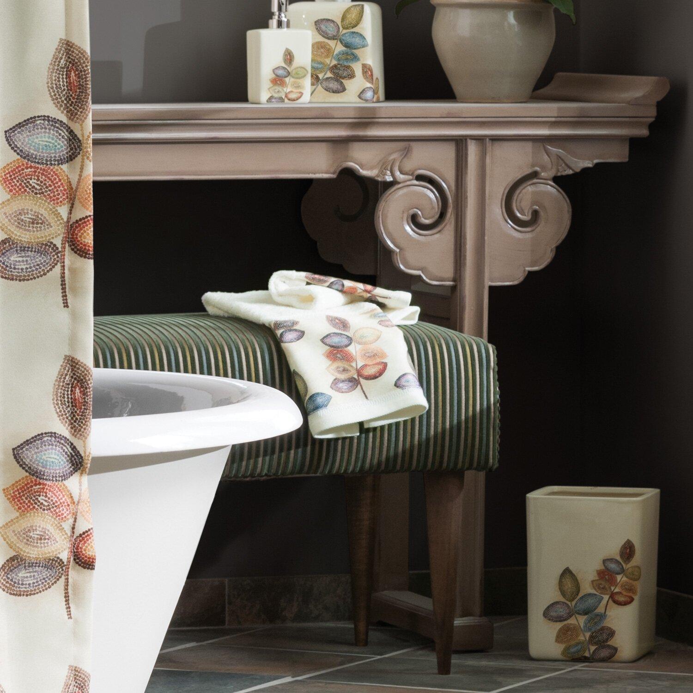 Croscill Kitchen Towels: Croscill Mosaic Leaves Bath Towel & Reviews