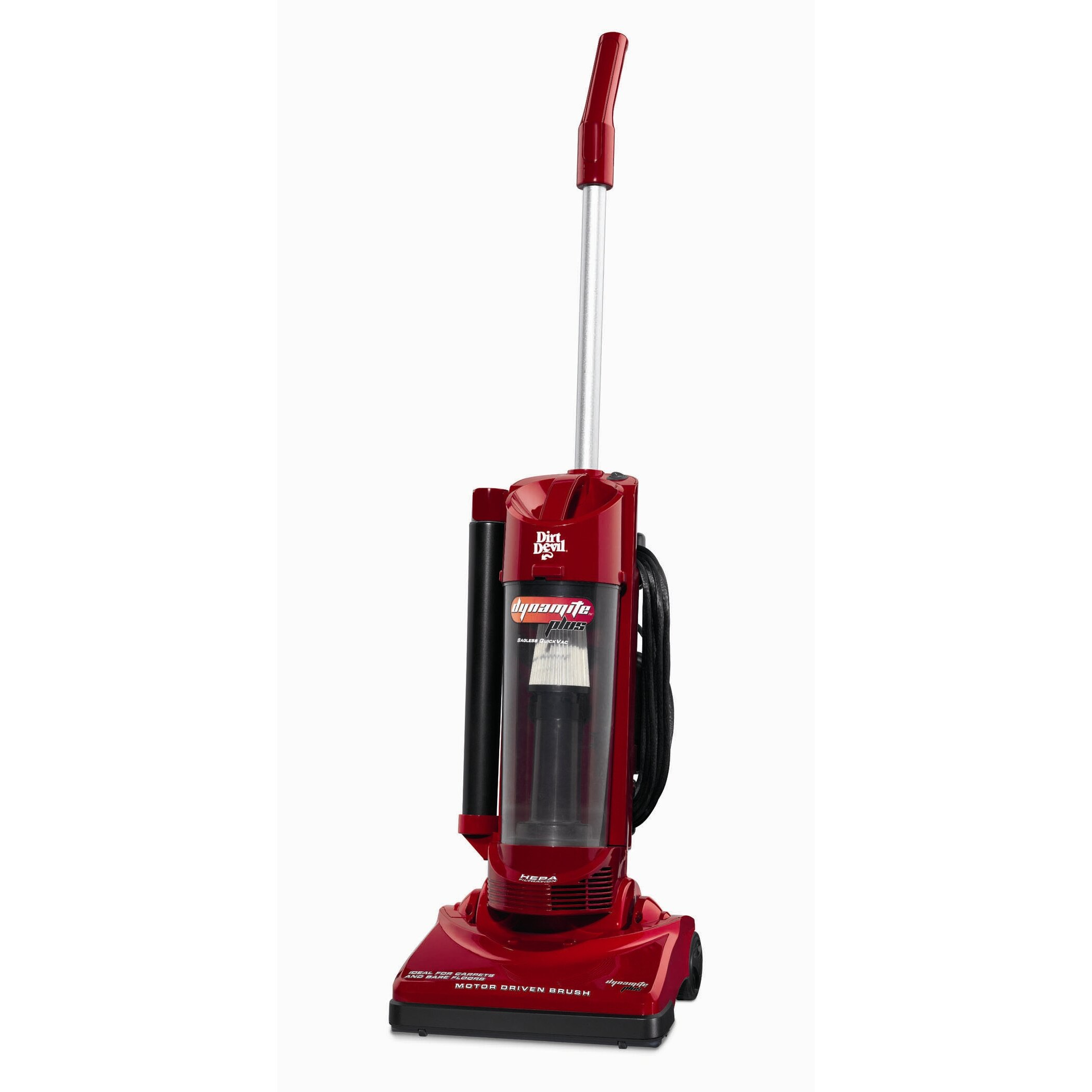 Dirt Devil Dynamite Upright Vacuum Cleaner with Tools  : Dirt Devil Dynamite Upright Vacuum Cleaner with Tools M084650RED from www.wayfair.com size 2100 x 2100 jpeg 191kB