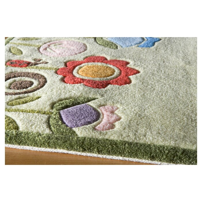 Momeni Lil Mo Whimsy Grass Ivory Area Rug Amp Reviews Wayfair