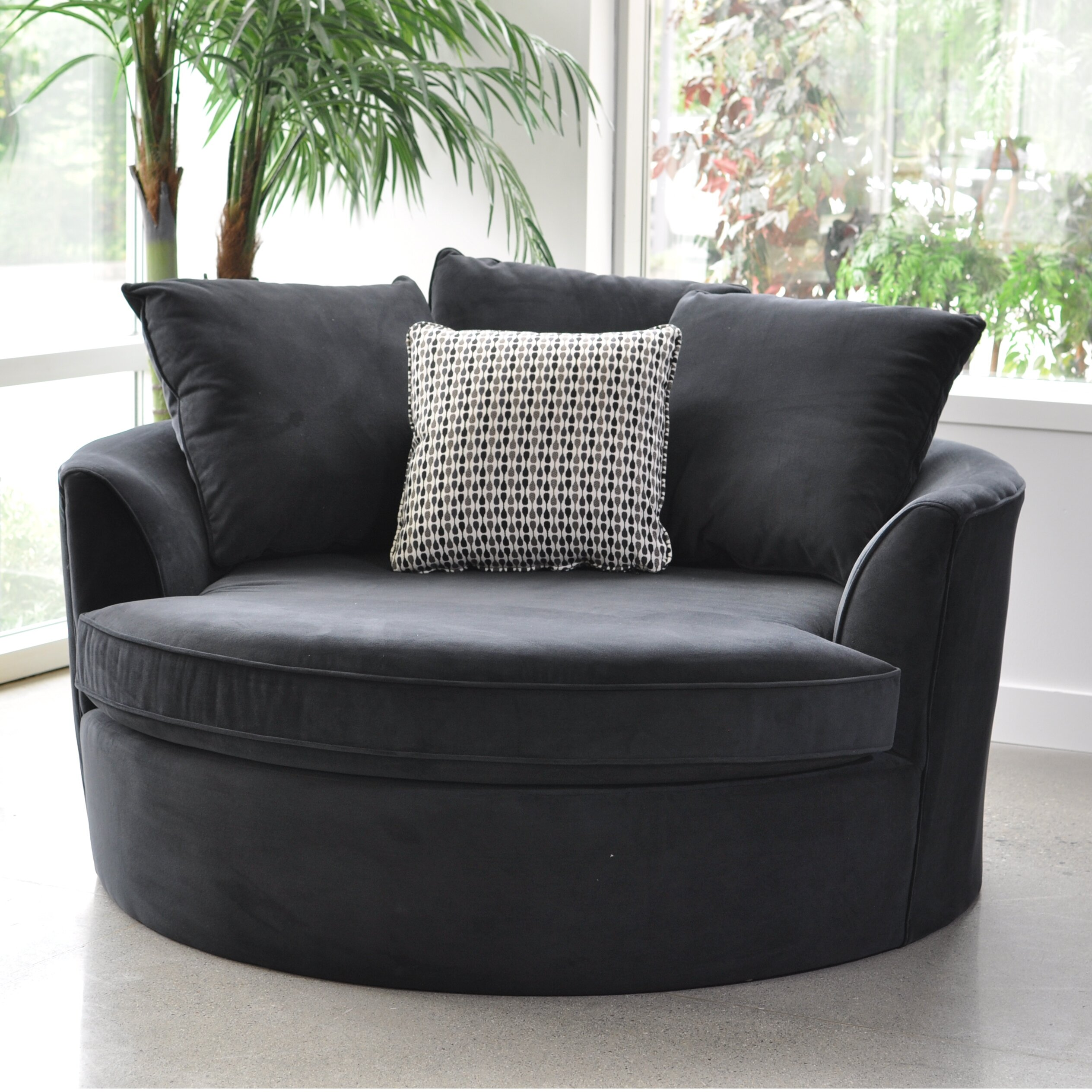 Sofas to Go Cuddler Barrel Chair u0026 Reviews : Wayfair