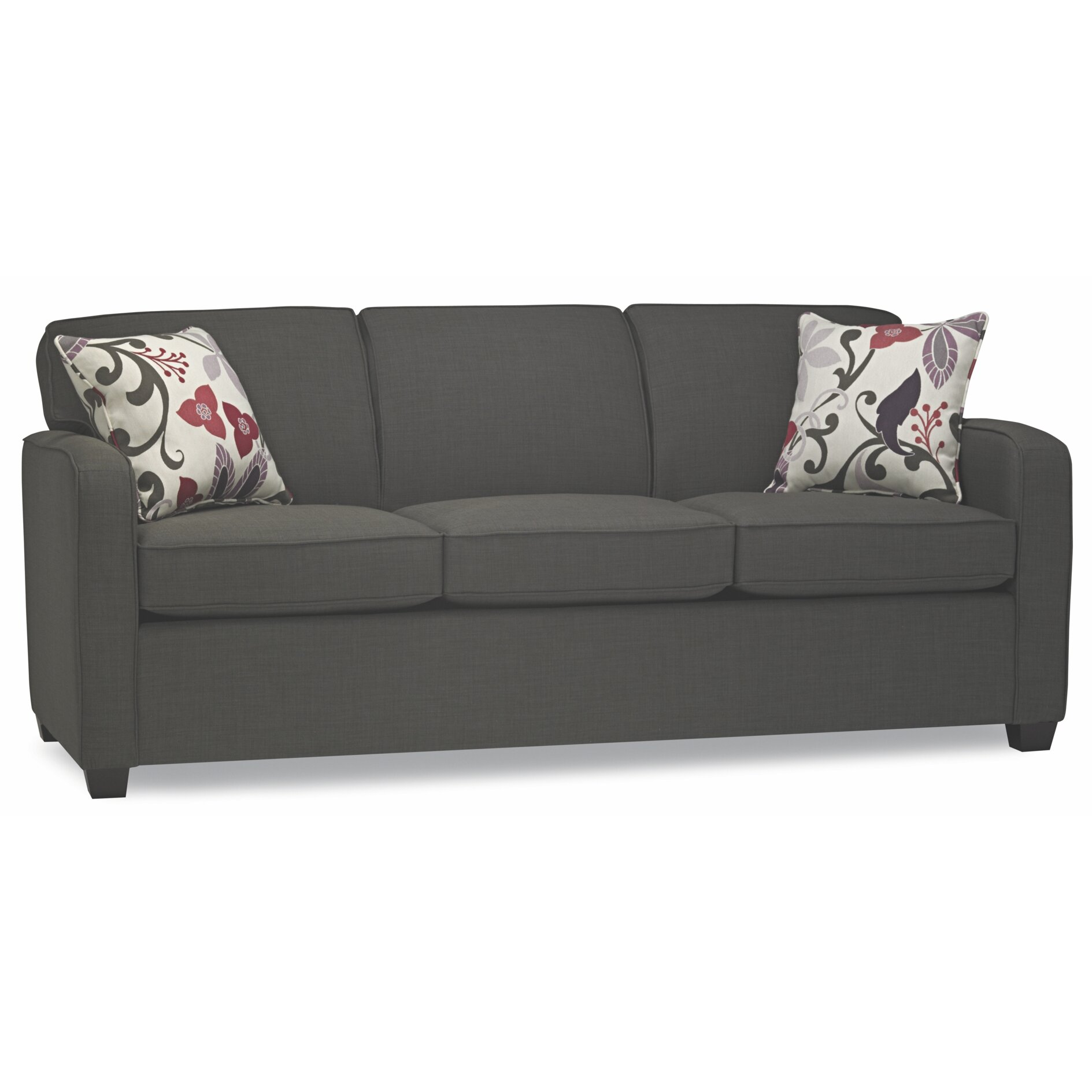 sofas to go cliff double sleeper sofa wayfair. Black Bedroom Furniture Sets. Home Design Ideas