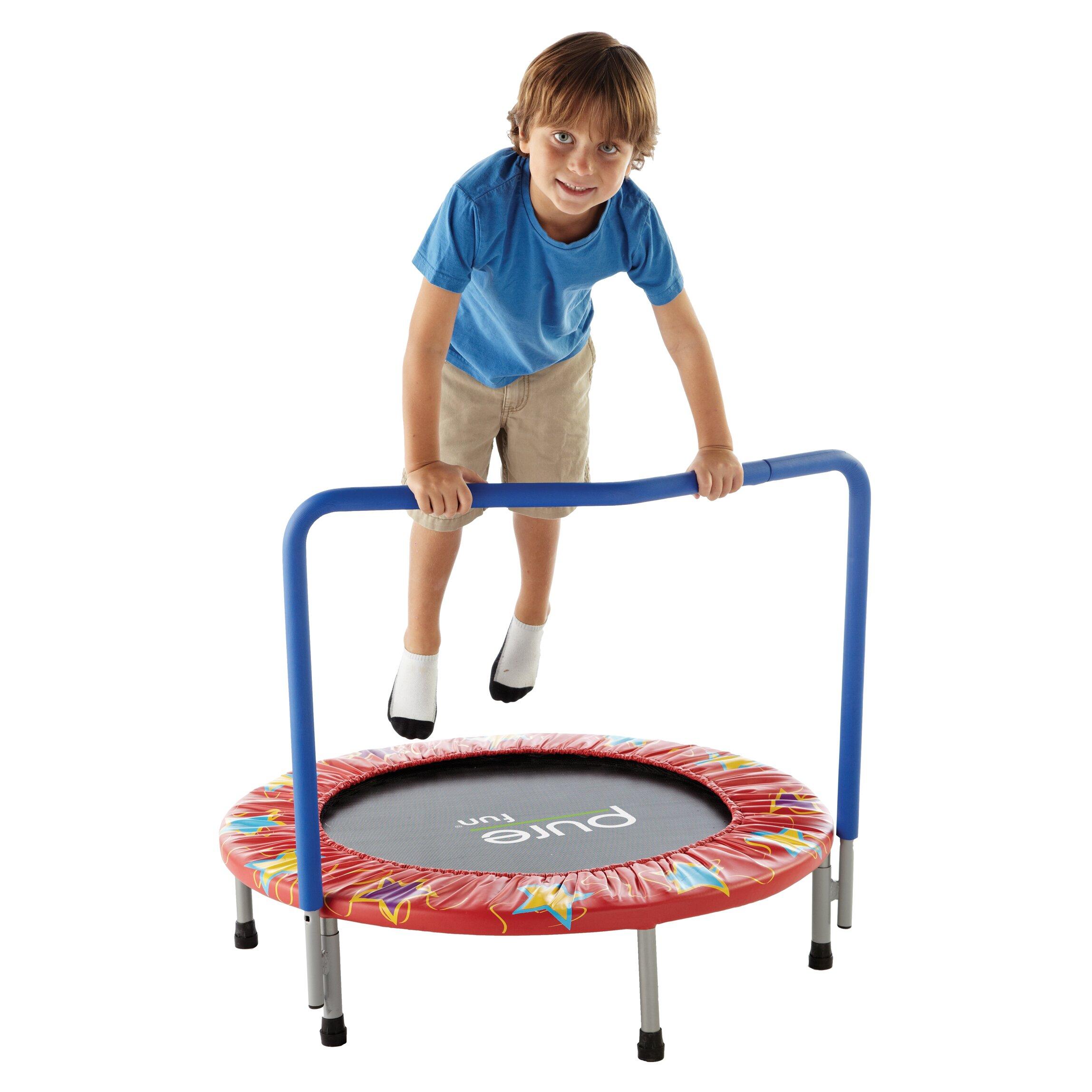 Pure Fun Kids 36 Quot Mini Trampoline Amp Reviews Wayfair