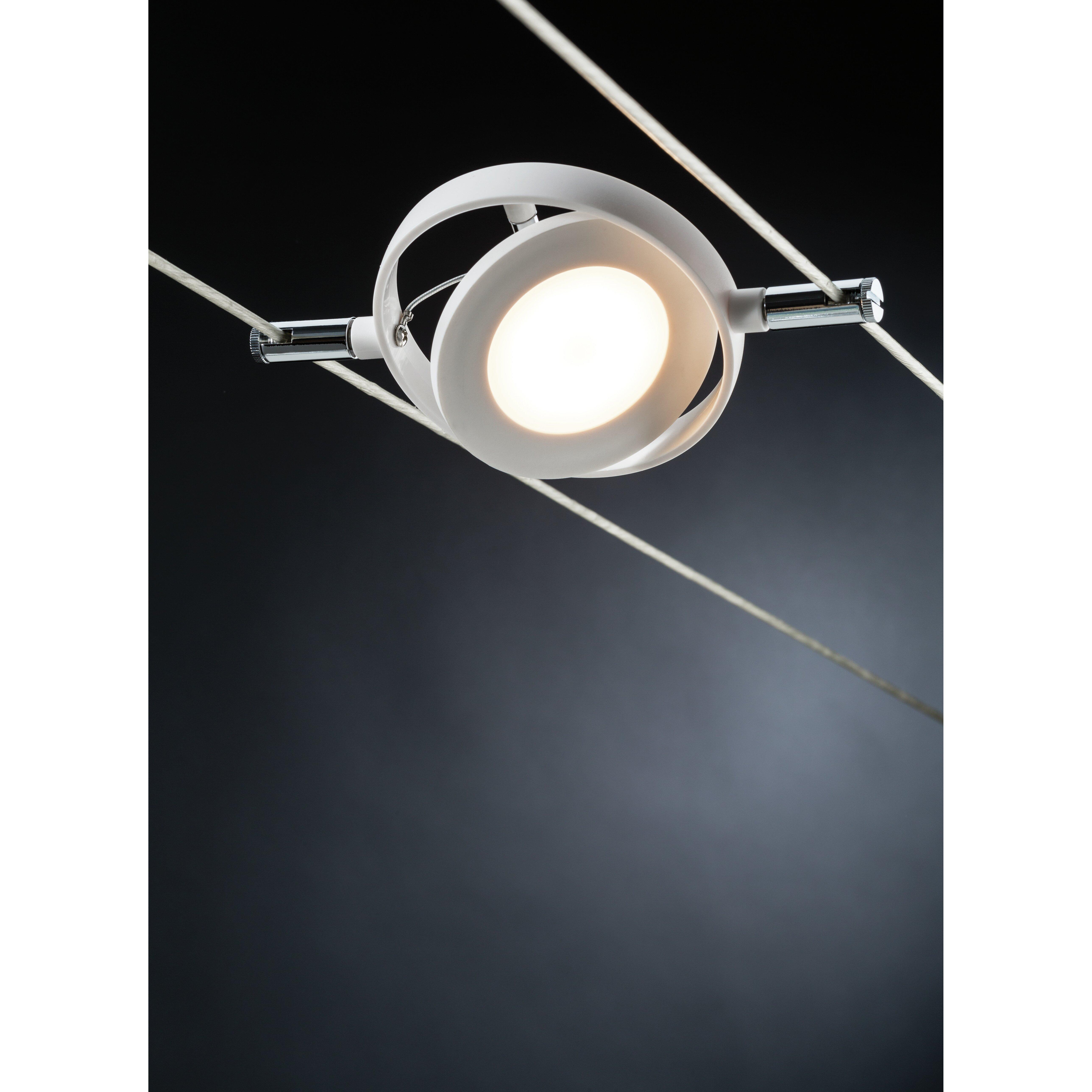 paulmann roundmac 6 light full track lighting kit reviews wayfair uk. Black Bedroom Furniture Sets. Home Design Ideas