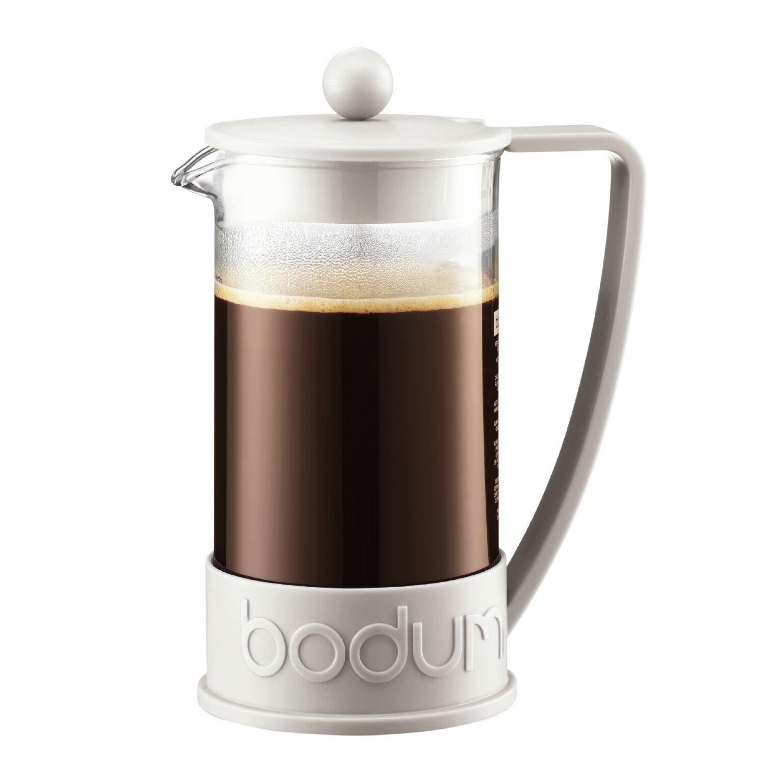bodum brazil french press coffee maker reviews wayfair. Black Bedroom Furniture Sets. Home Design Ideas
