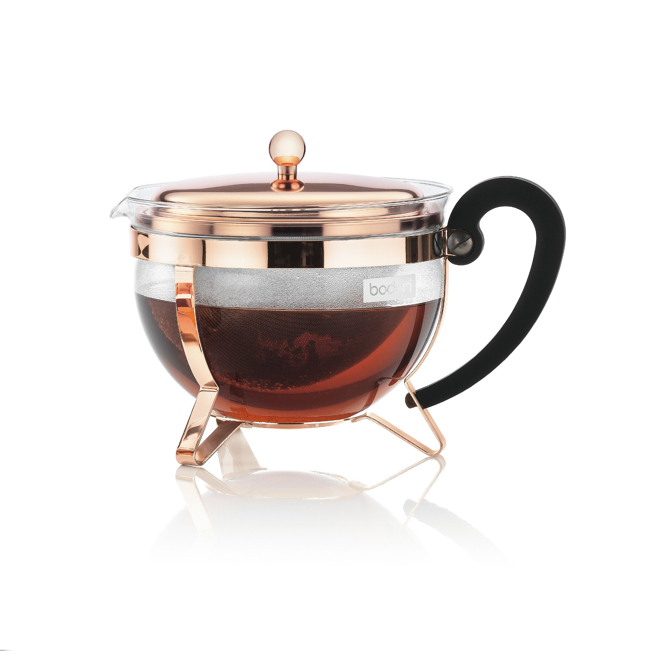 bodum chambord tea pot reviews wayfair. Black Bedroom Furniture Sets. Home Design Ideas