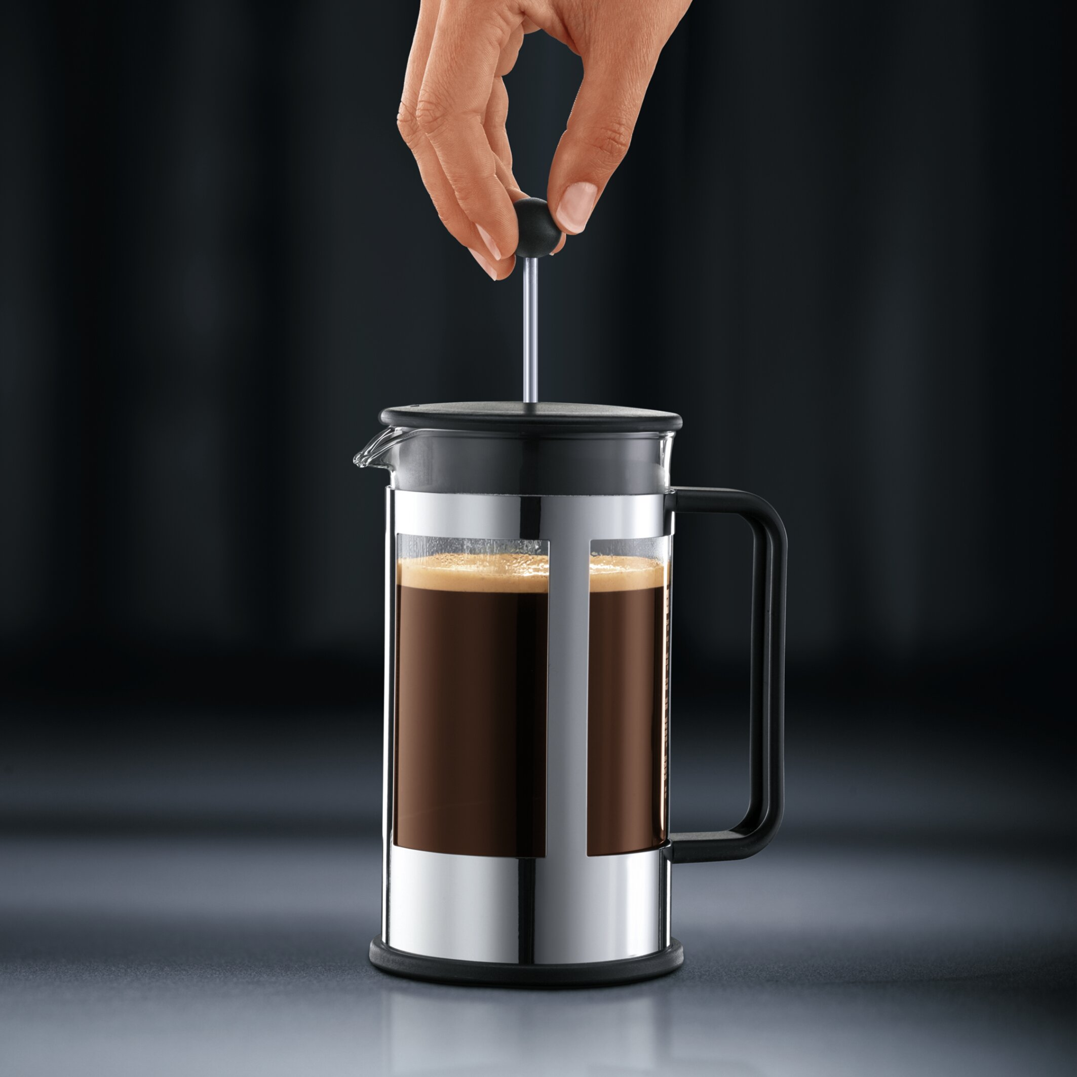 Bodum Kenya 8 Cup French Press Coffeemaker with Carafe 1978 01  Cup Bodum French Press