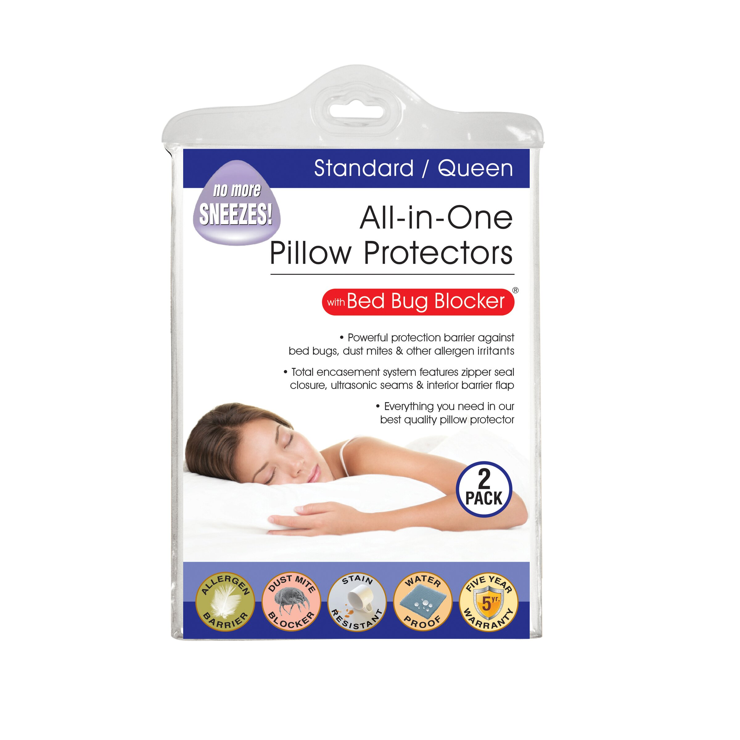 fresh ideas fresh ideas all in one bed bug pillow With all in one pillow protector