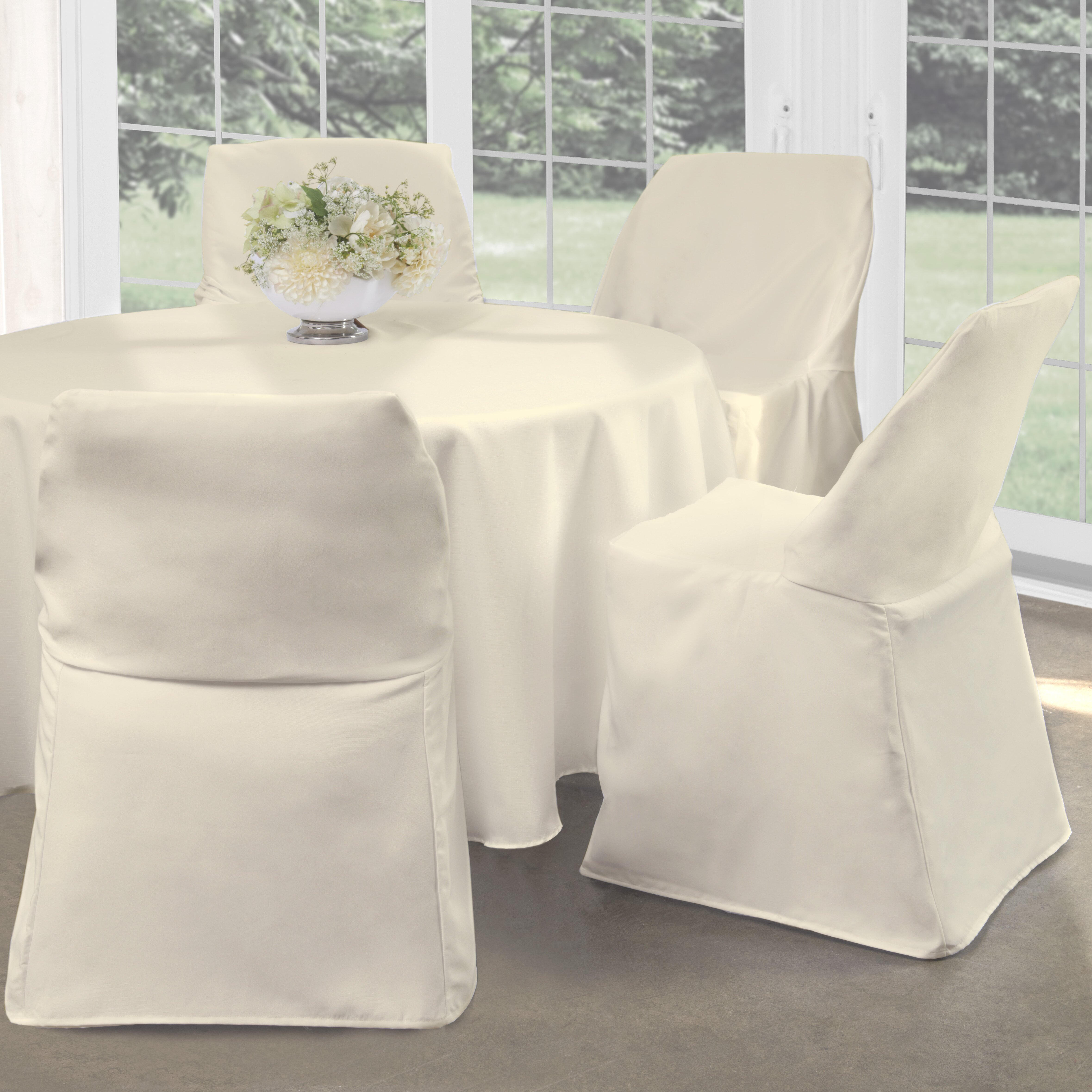 Fresh Ideas Folding Chair Slipcover & Reviews