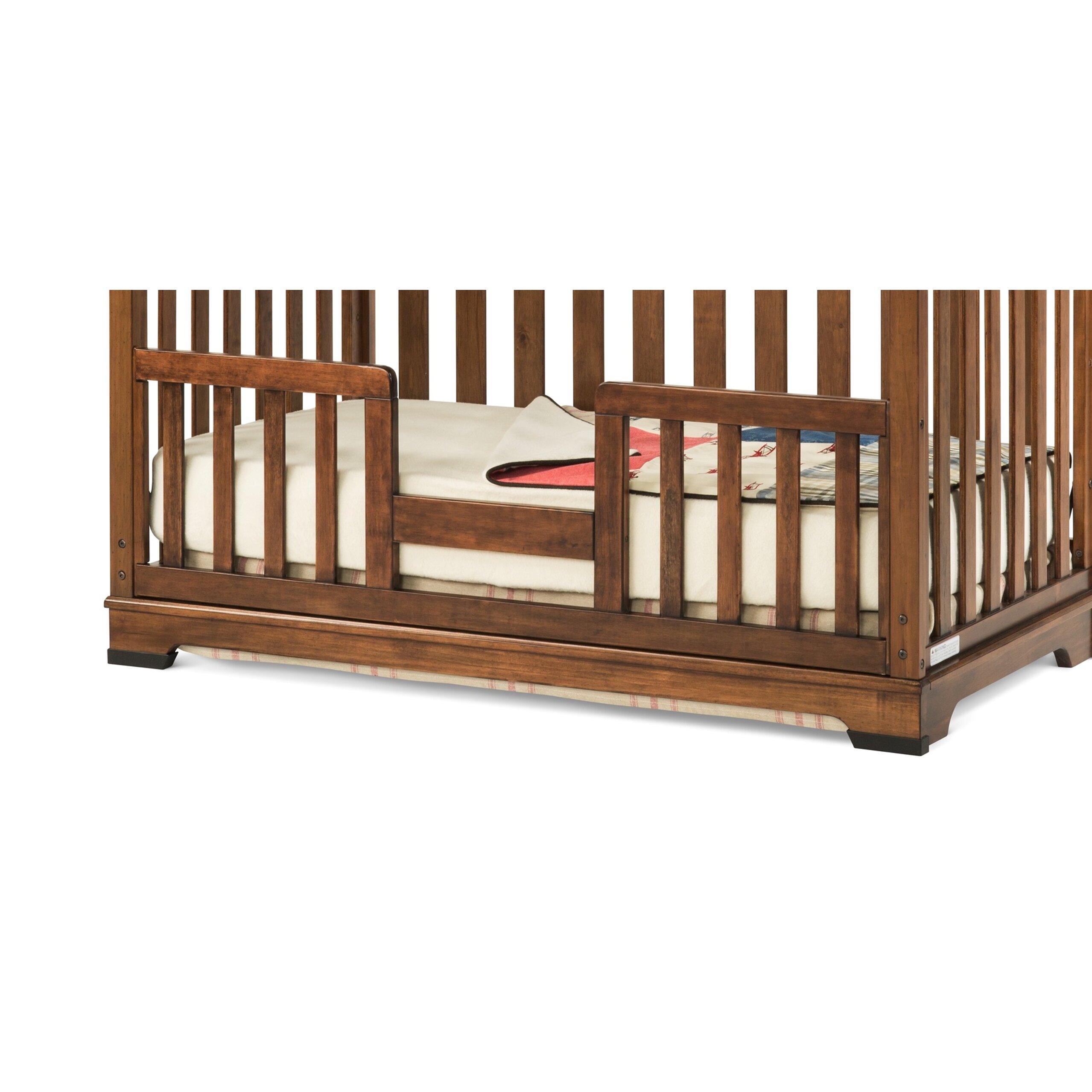 child craft redmond toddler bed guard rail reviews wayfair. Black Bedroom Furniture Sets. Home Design Ideas