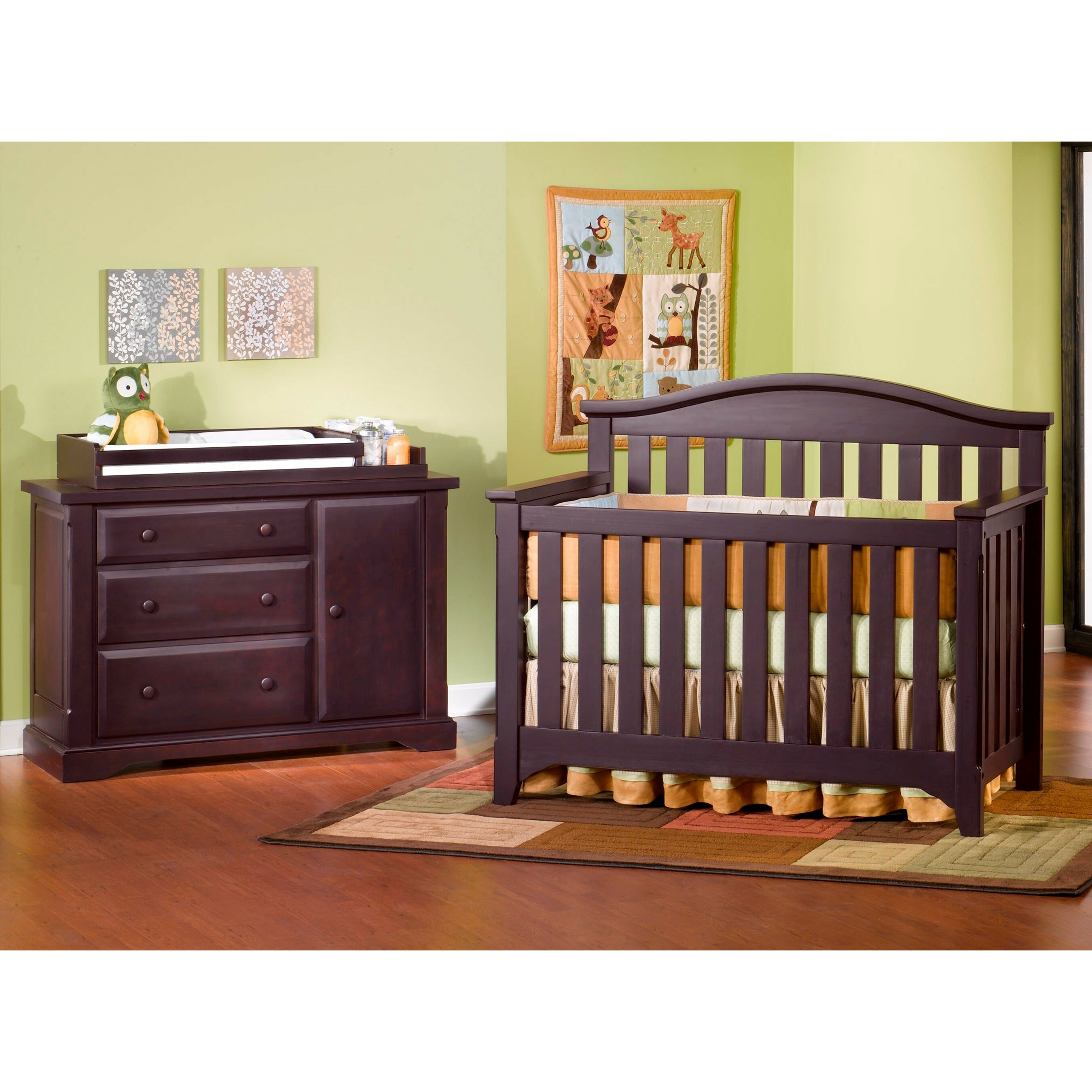 Child craft hawthorne nursery 3 piece convertible crib set for Child craft crib reviews