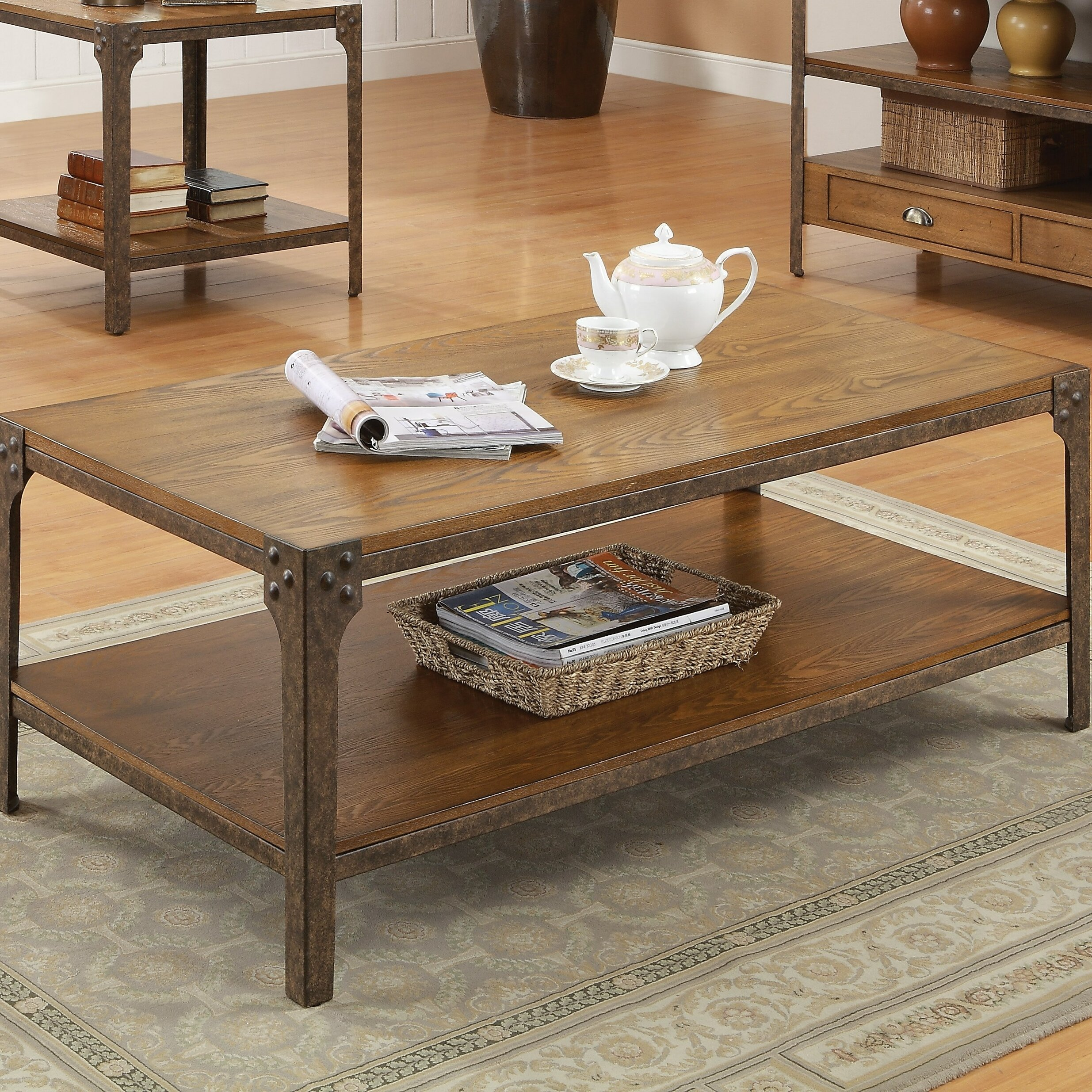 Loon Peak Hingham Coffee Table Reviews Wayfair