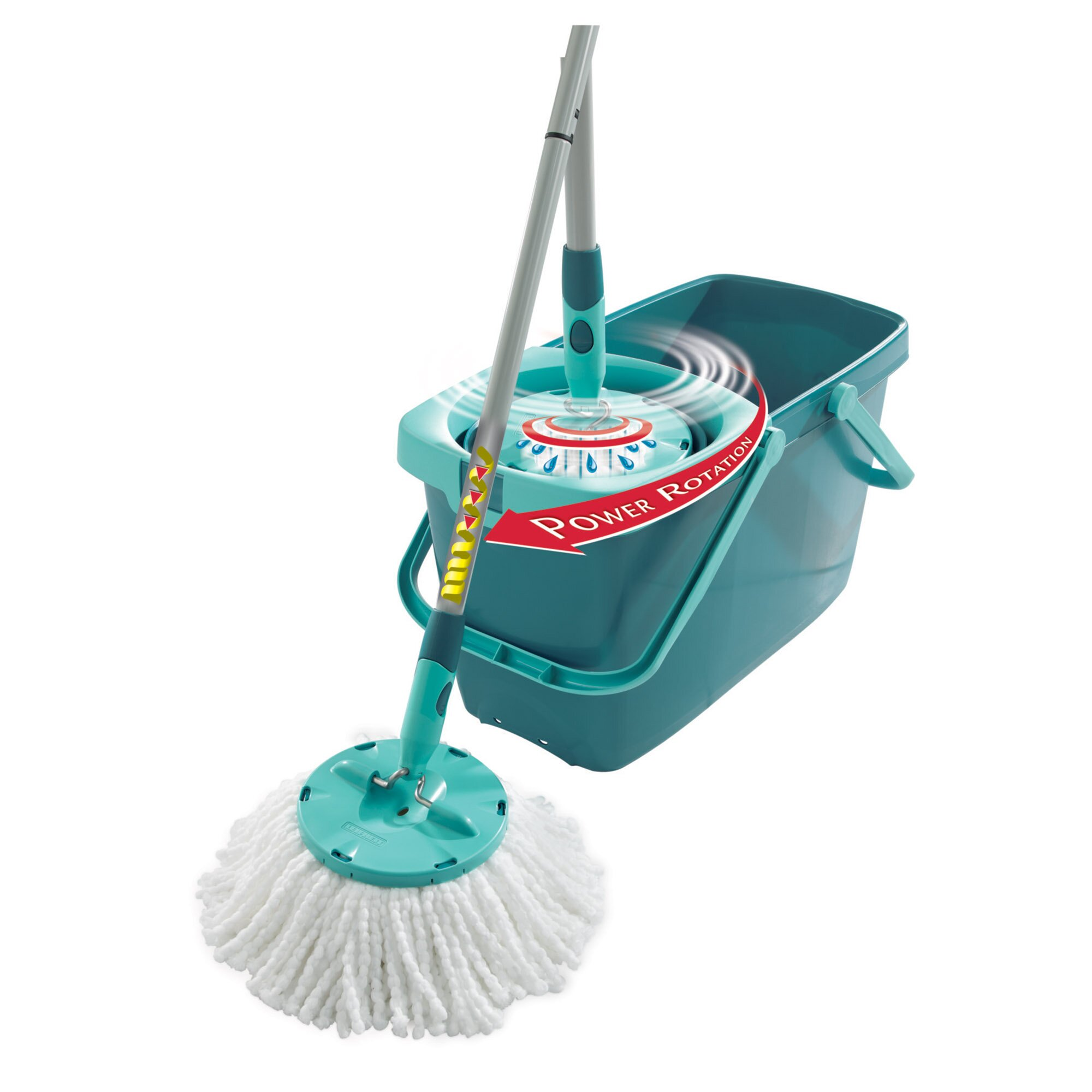 LEIFHEIT Clean Twist Mop Set with Mop and Spin Bucket  : LEIFHEIT Clean Twist Mop Set with Mop and Spin Bucket 52019 from www.wayfair.com size 2000 x 2000 jpeg 228kB