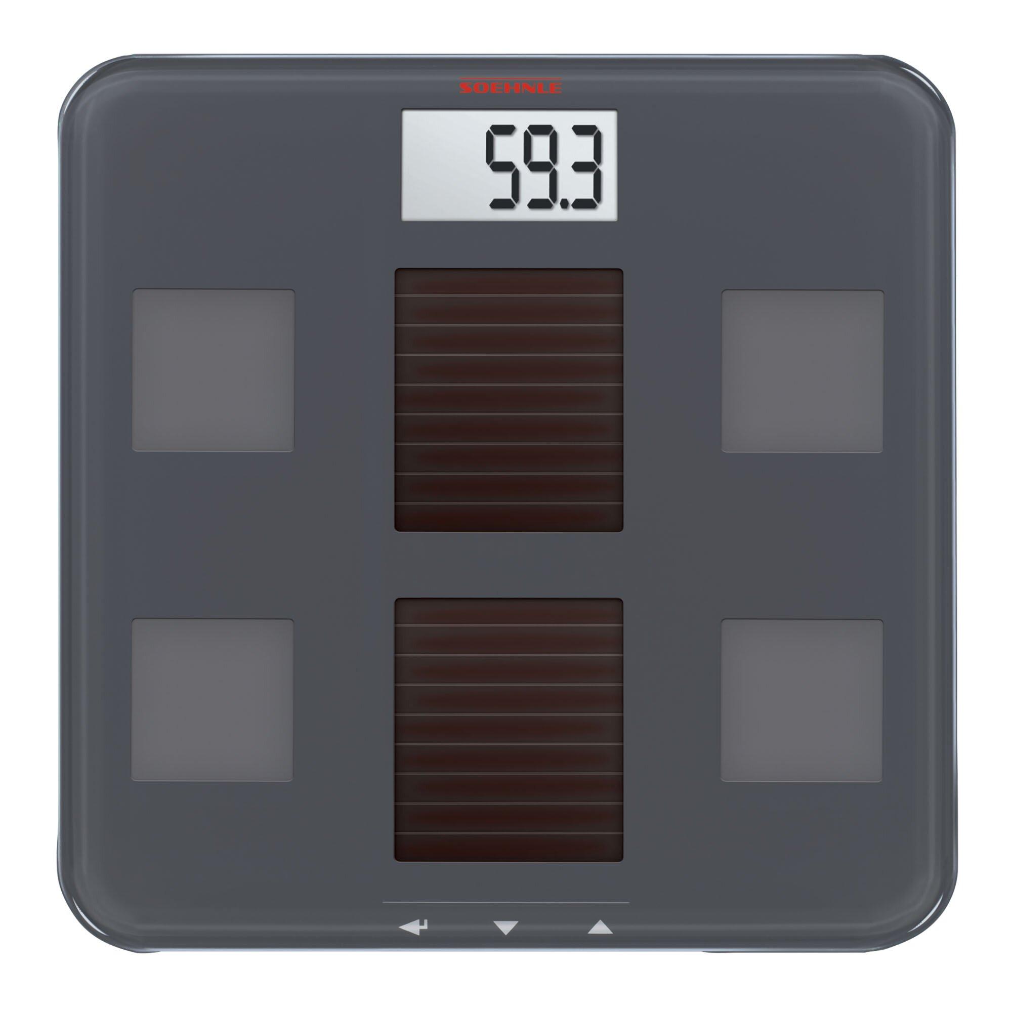 Bmi Bathroom Scale: Soehnle Solar Fit Body Precision Digital Analysis BMI