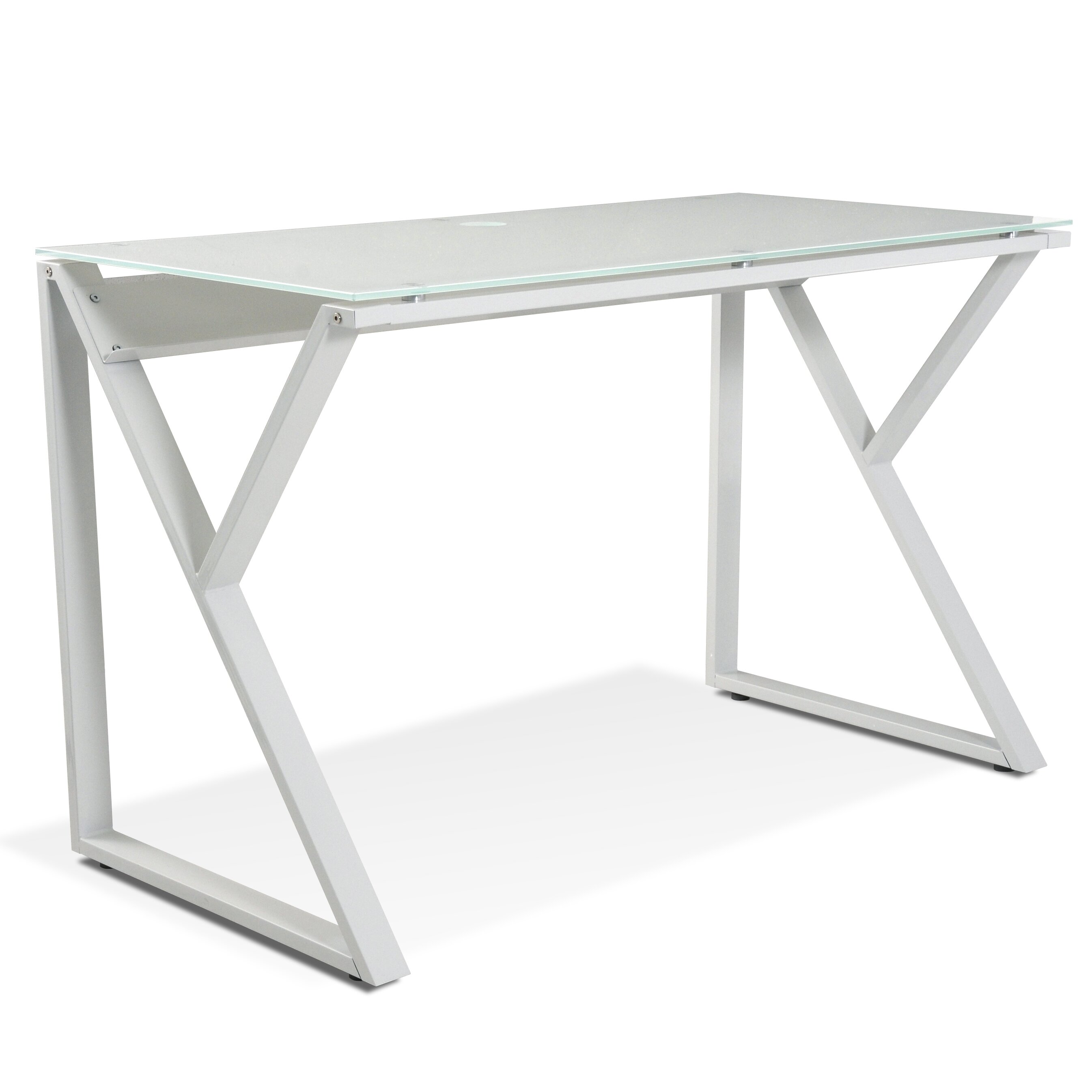 glass top writing desks Shop from the world's largest selection and best deals for glass writing desks office furniture shop with confidence on ebay.