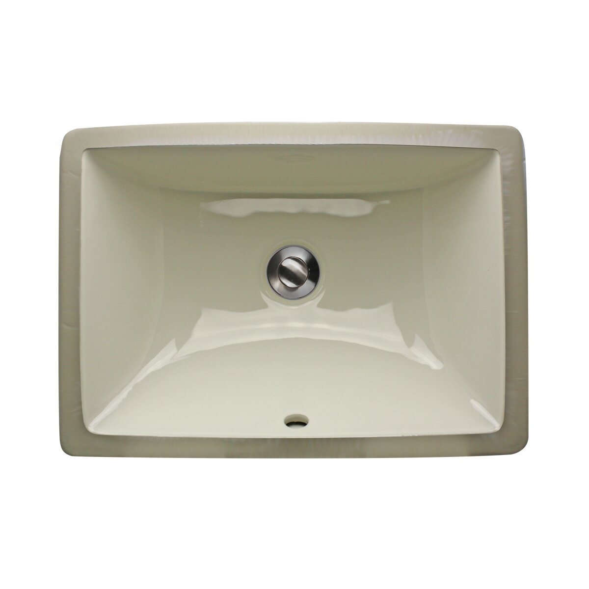 Nantucket Sinks Great Point Rectangle Ceramic Undermount