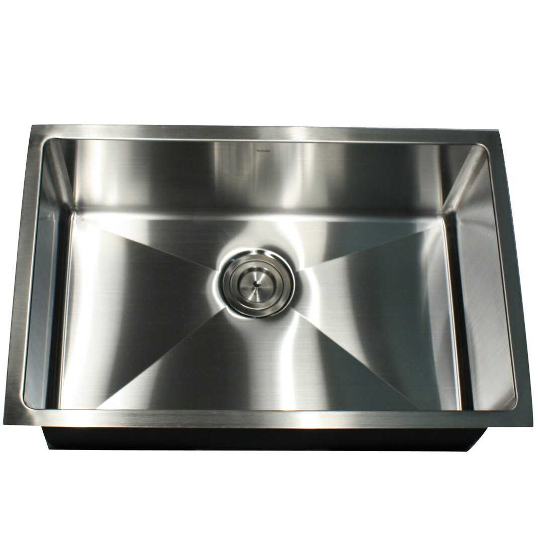 nantucket sinks pro series 28 quot x 18 quot rectangle undermount
