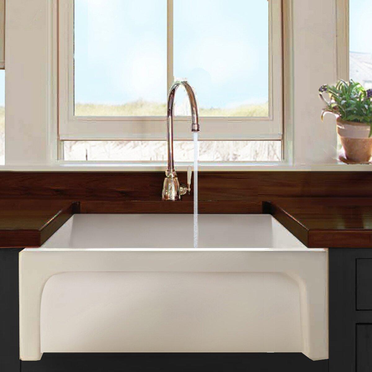 Nantucket Sinks 30 X 18 Chatham Single Bowl Kitchen Sink Chatham Reviews Wayfair