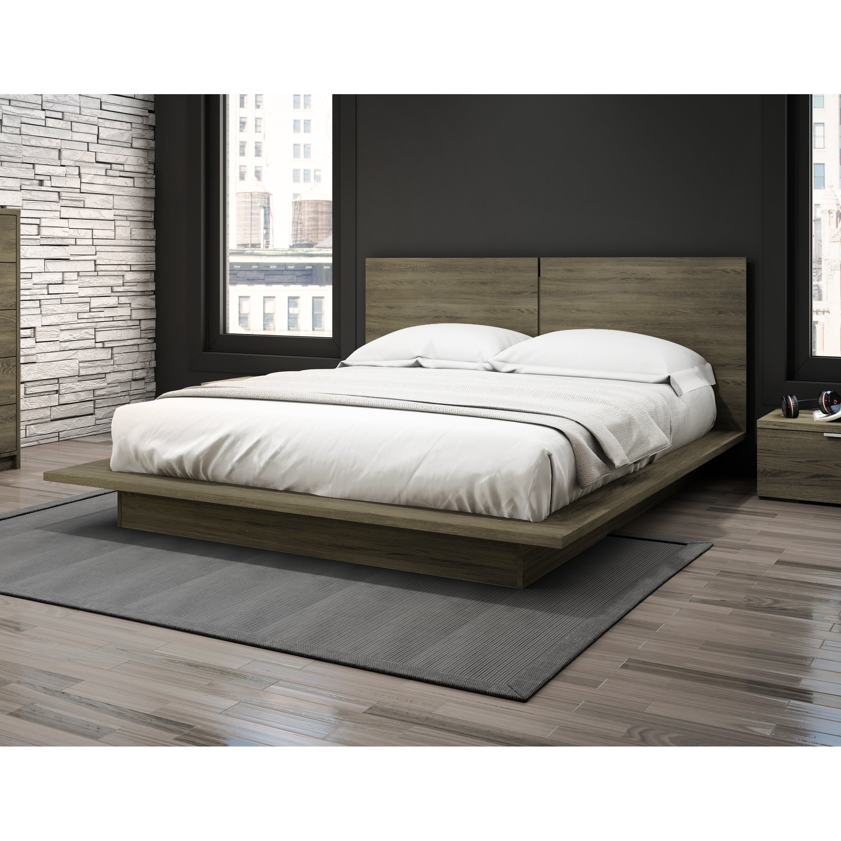 Stellar Home Modena Queen Platform Bed Reviews Wayfair