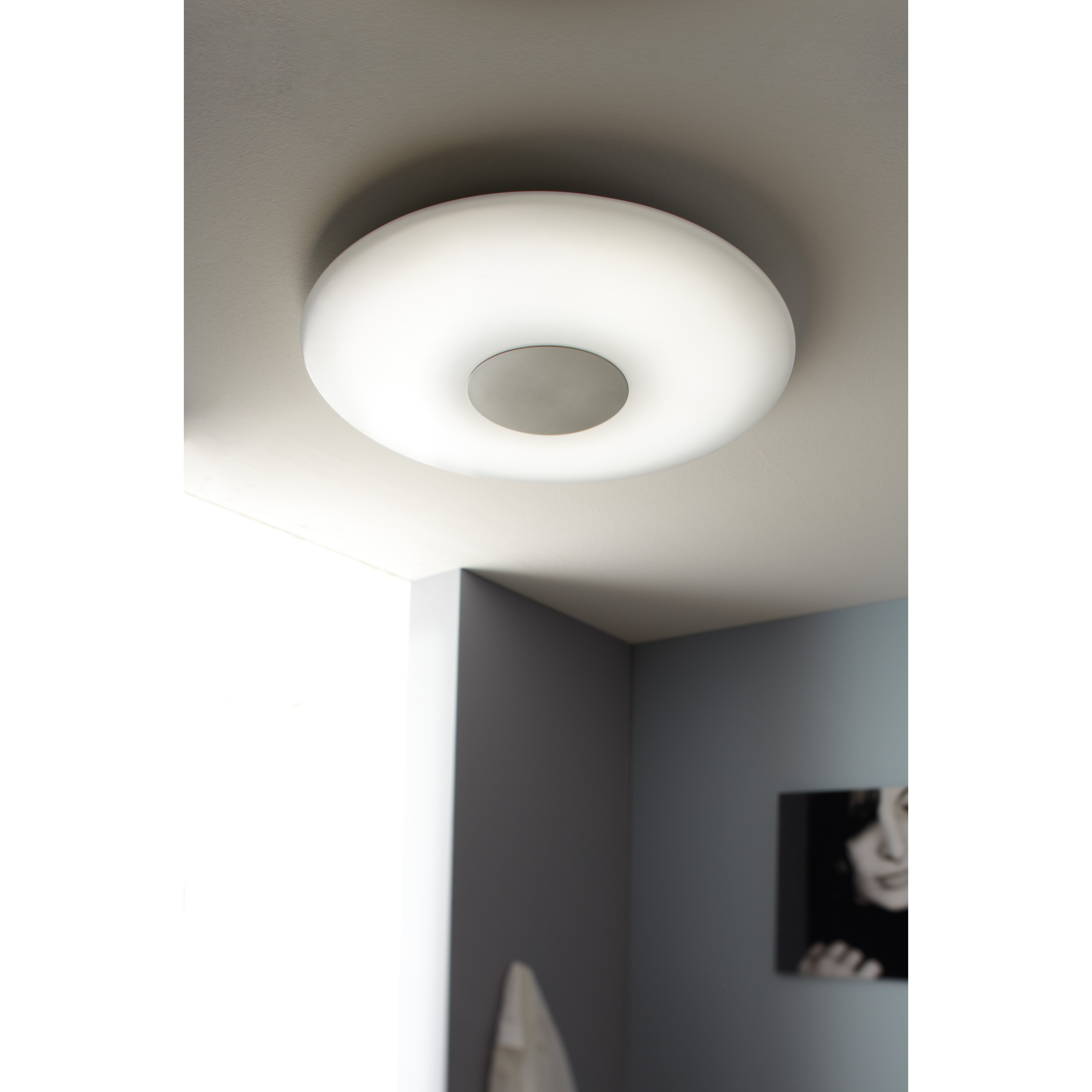wofi deckenleuchte 1 flammig sila. Black Bedroom Furniture Sets. Home Design Ideas