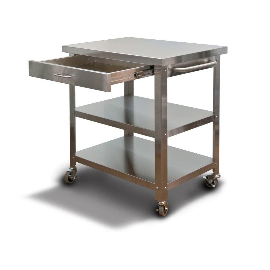 Danver Cocina Kitchen Serving Cart Amp Reviews Wayfair